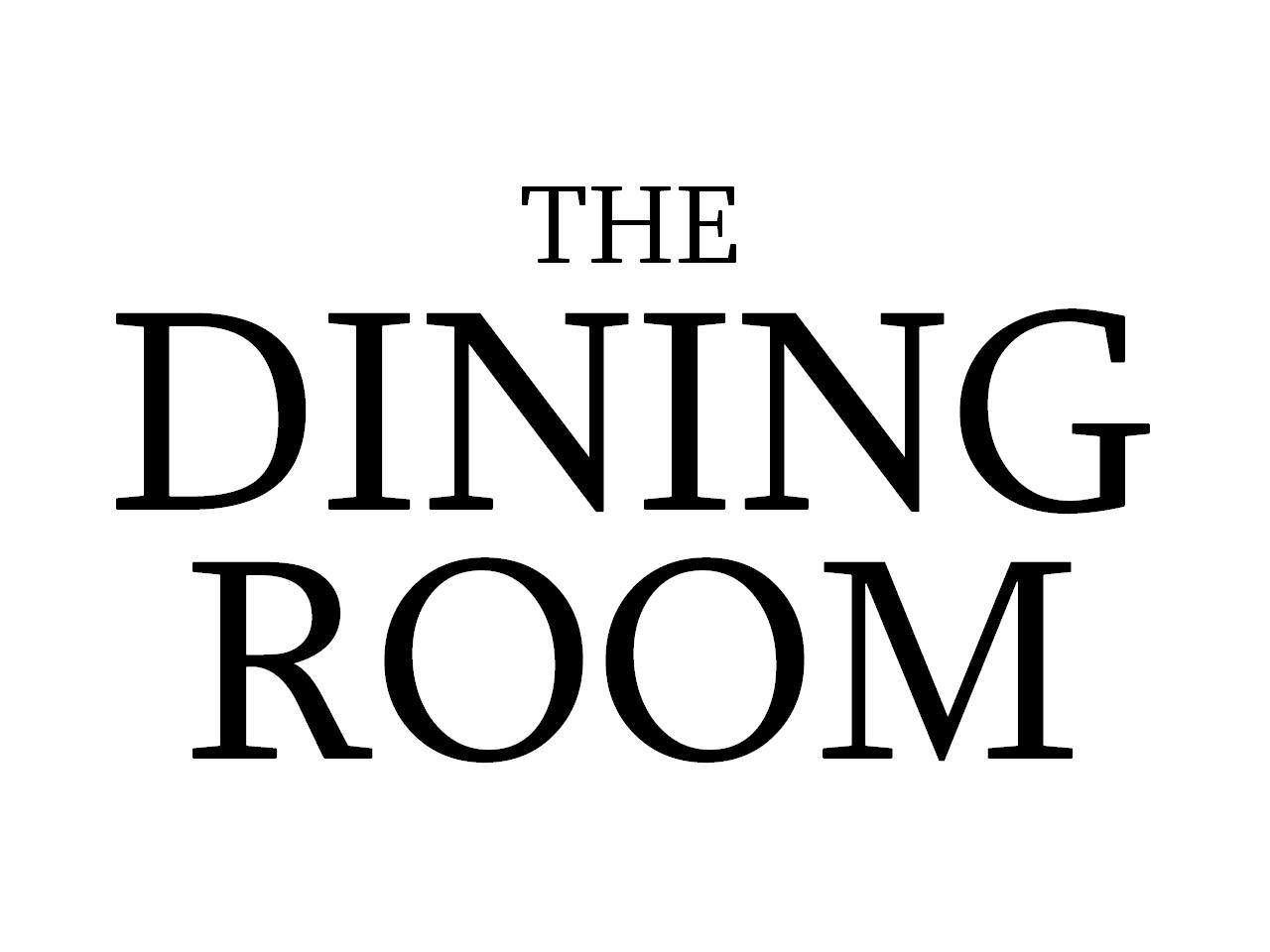 The Dining Room logo. The Dining Room   Libertyville High School Theater Department